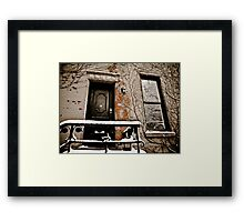 Brooklyn Doors Framed Print