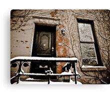 Brooklyn Doors Canvas Print
