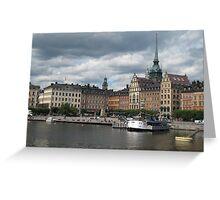 Stockholm, Stockholm, Världens Stad! Greeting Card