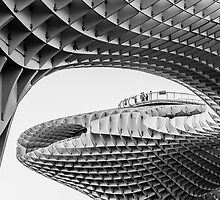 Metropol Parasol in Mono by MikeSquires