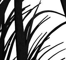 Black reeds by Matt Hill
