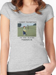 Lee Carvello's Putting Challenge Women's Fitted Scoop T-Shirt