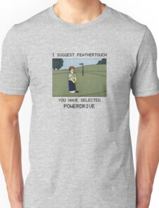 Lee Carvello's Putting Challenge Unisex T-Shirt