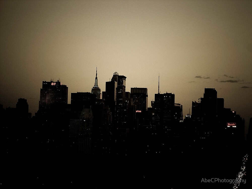 Manhattan Skyline Central Park by AbeCPhotography