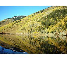 Mirror Mountain Lake Photographic Print