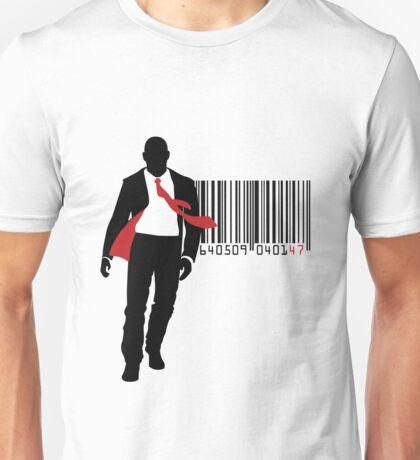 Agent 47 Barcode Unisex T-Shirt