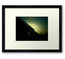 New York Subway  Framed Print