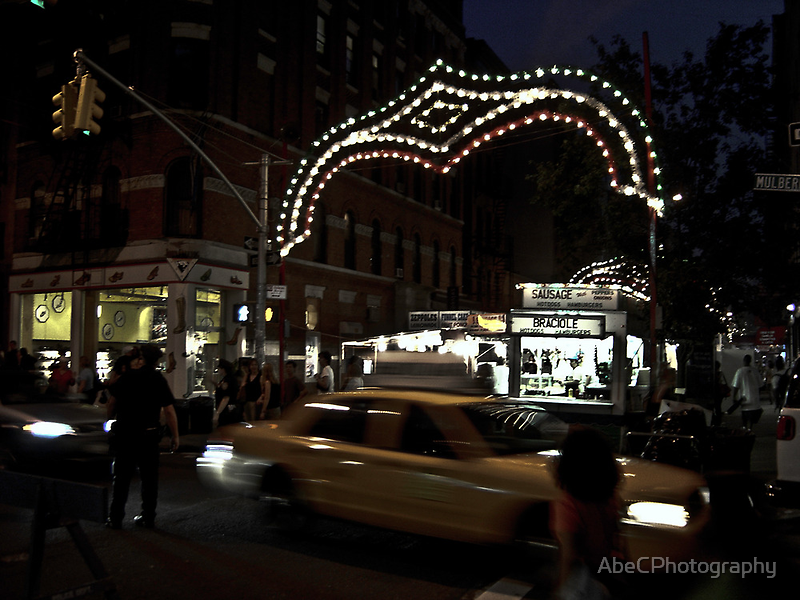 San Gennaro, Little Italy NYC by AbeCPhotography