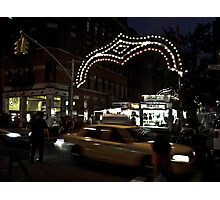 San Gennaro, Little Italy NYC Photographic Print