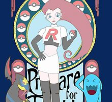 Rocket Nouveau by Rainey April