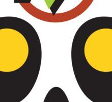 Wily Skull Sticker