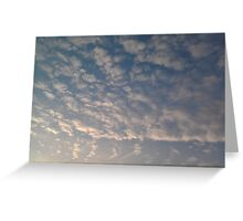 Cloudscape Greeting Card