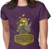 Daddy's Little Girl Womens Fitted T-Shirt