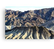 Zabriskie Point Death Valley,Death Valley National Park,California Canvas Print