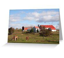 Lancaster County Farm Greeting Card