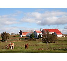 Lancaster County Farm Photographic Print