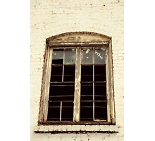 Reflection of an old Southern town Photographic Print