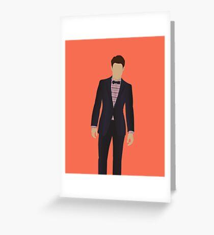 Tuxedo Greeting Card