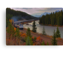 The Rocky Mountaineer Canvas Print