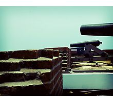 Ready. Aim. Fire! Photographic Print