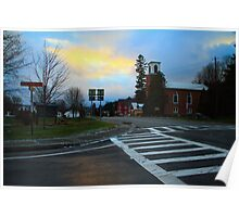Sunset on John Fountain RD Poster
