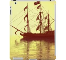 The Pirate Ship And The Sunset iPad Case/Skin
