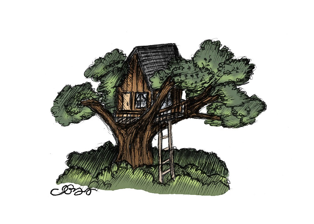 Dreaming of Tree Houses by Jenna Gregory