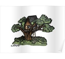 Dreaming of Tree Houses Poster