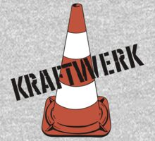 Kraftwerk Traffic Cone by Bradley John Holland