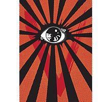 VENDETTA alternative movie poster eyeball print Photographic Print