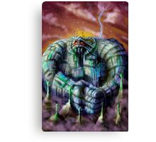 Giant Robot Canvas Print
