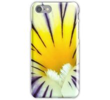 Yellow And Purple Pansy Flower iPhone Case/Skin