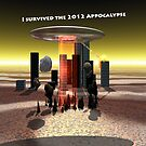 Appocalypse 2012 survival Ipad Cover by Khrome Photography