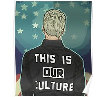 Pete Wentz - THIS IS OUR CULTURE Poster