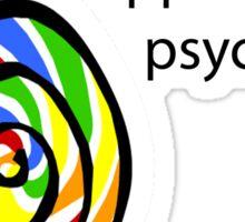 Lollipop Psycho Sticker