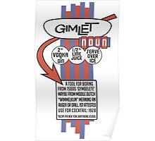 Gimlet Poster Poster