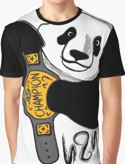 The Champ Is Bear! Graphic T-Shirt