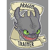 Toothless - Dragon Trainer Photographic Print