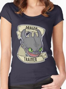 Toothless - Dragon Trainer Women's Fitted Scoop T-Shirt