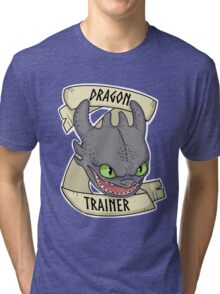 Toothless - Dragon Trainer Tri-blend T-Shirt