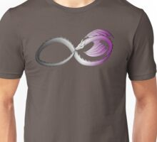 Infinite Asexual Pride Dragon Unisex T-Shirt