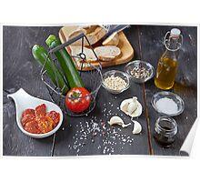 mediterranean food Poster
