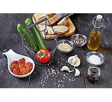 mediterranean food Photographic Print