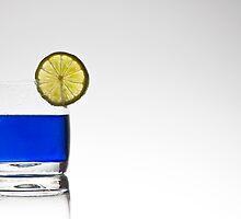 blue cocktail by Joana Kruse
