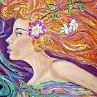 Goddess of Love lVenus /Aphrodite,acrylic artwork  by gillsart