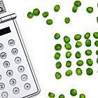 counting peas by Joana Kruse