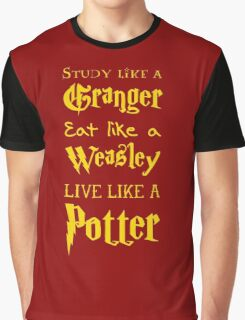 Live Like a Potter Graphic T-Shirt