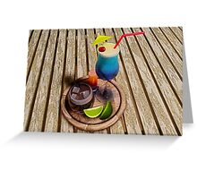 Summer Cocktails Greeting Card