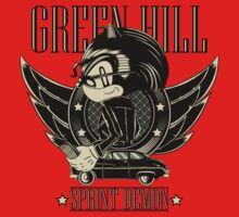 Green Hill Sprint Demon Kids Tee