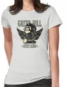 Green Hill Sprint Demon Womens Fitted T-Shirt